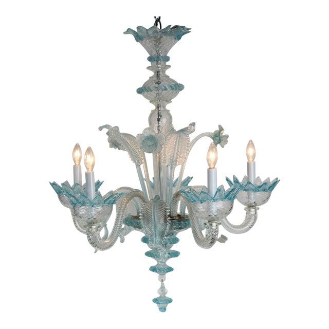 Vintage murano glass chandelier chairish vintage murano glass chandelier aloadofball Images