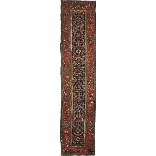 Antique Persian Kurdish Runner - 3′8″ × 16′5″ - Image 1 of 9
