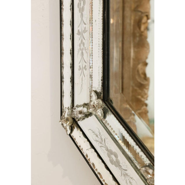 Octagonal Venetian Mirror For Sale In Houston - Image 6 of 12