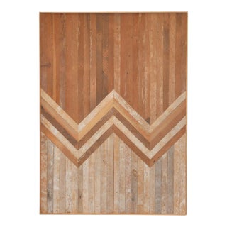Aleksadra Zee Geometric Wooden Wall Hanging For Sale