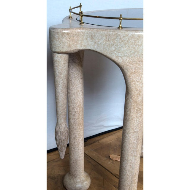 Elephant Rolling Bar Cart For Sale - Image 10 of 12