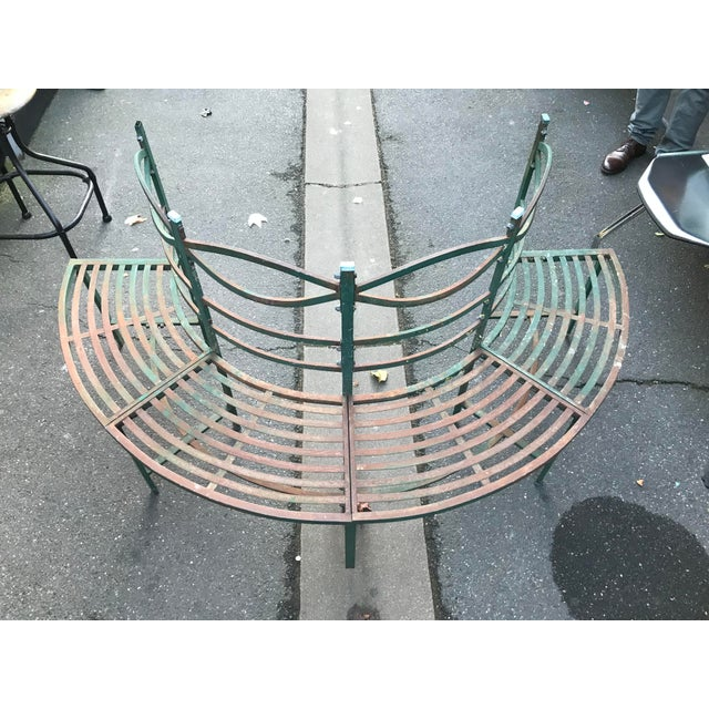 Round French Tuileries Bench - Image 3 of 8