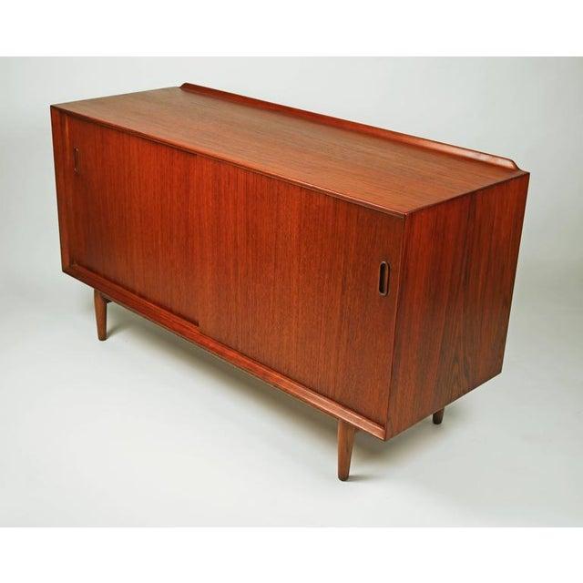 Teak Arne Vodder Danish Modern Teak Cabinet for Sibast For Sale - Image 7 of 7