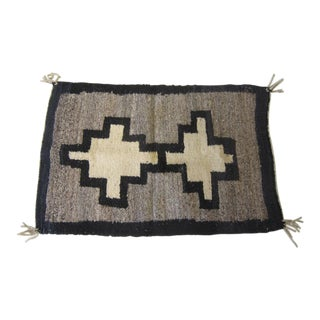 Vintage Folk Art Mexican Tapestry For Sale