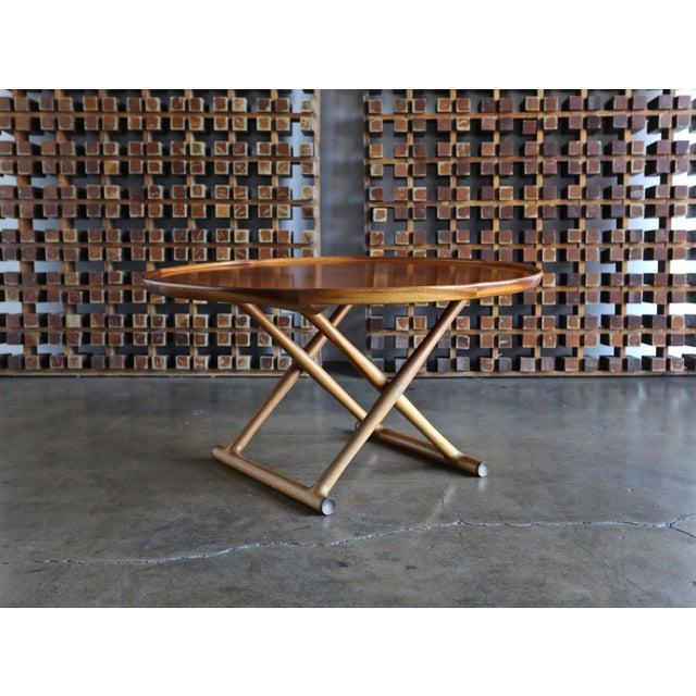 1950s Danish Modern Mogens Lassen for A.J. Iversen Center Table For Sale - Image 13 of 13