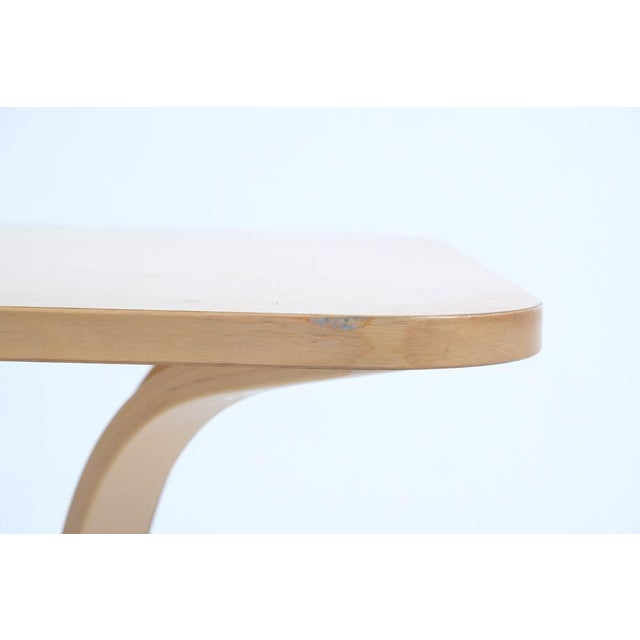 Tan Asko Mid-Century Modern-Style Birch Coffee Table For Sale - Image 8 of 11