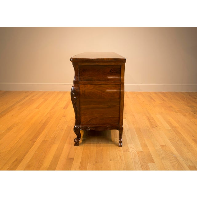 Rosewood Ophis Solid Rosewood Commode For Sale - Image 7 of 8