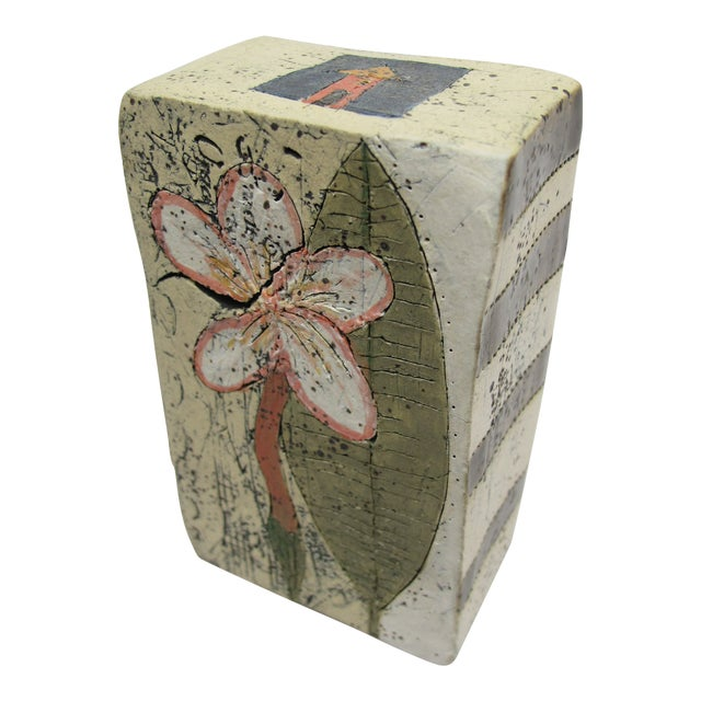 Betsy Wolfston Pottery House Blessing Box For Sale