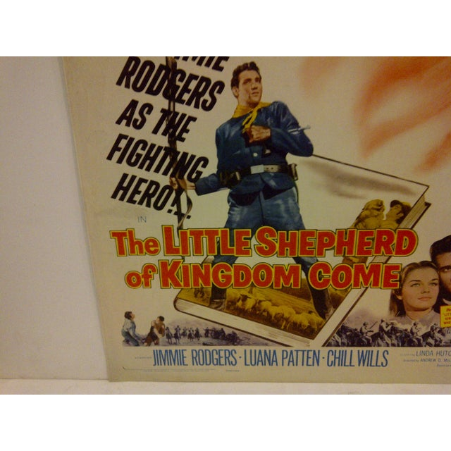 Mid-Century Modern 1960 Vintage Movie Poster For Sale - Image 3 of 5