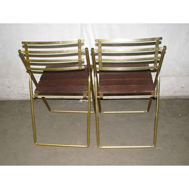 Mid-Century Modern Folding Chair For Sale - Image 6 of 10