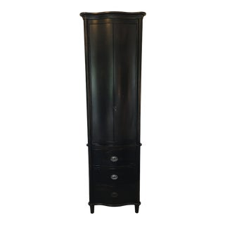 Restoration Hardware Empire Rosette Tall Bath Cabinet For Sale