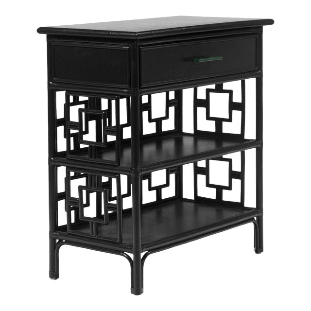 Sobe End Table - Black For Sale