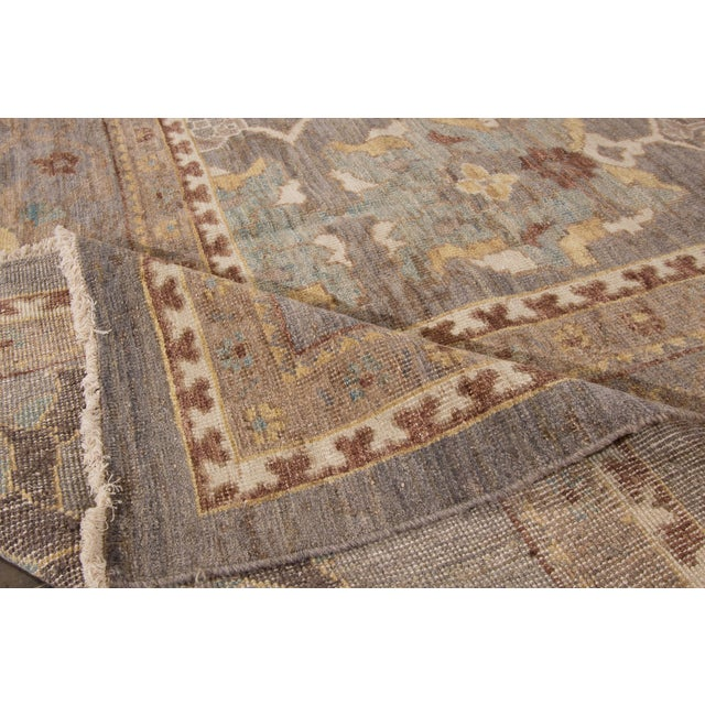 """Wool Sultanabad Rug - 10'10"""" x 14'8"""" - Image 3 of 4"""