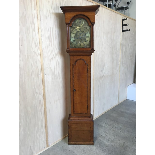 18th Century Longcase 8 Day Time & Strike Clock For Sale - Image 13 of 13