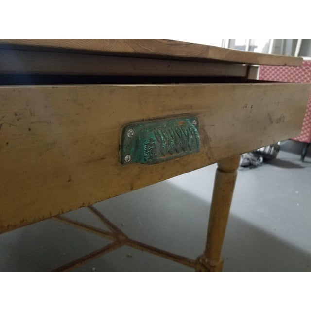 French Antique French Dining Table For Sale - Image 3 of 6