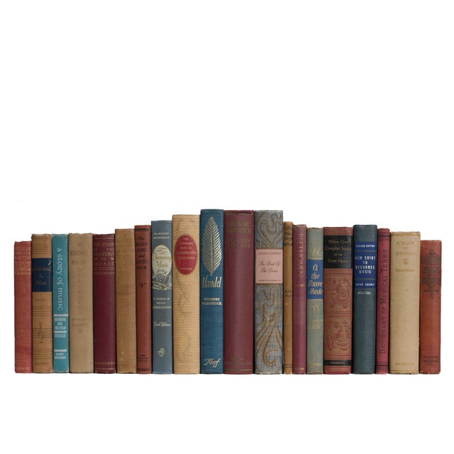 Features a blend of 20 authentic mid-century books published 1940-1969. Includes a delightful collection of music themed...