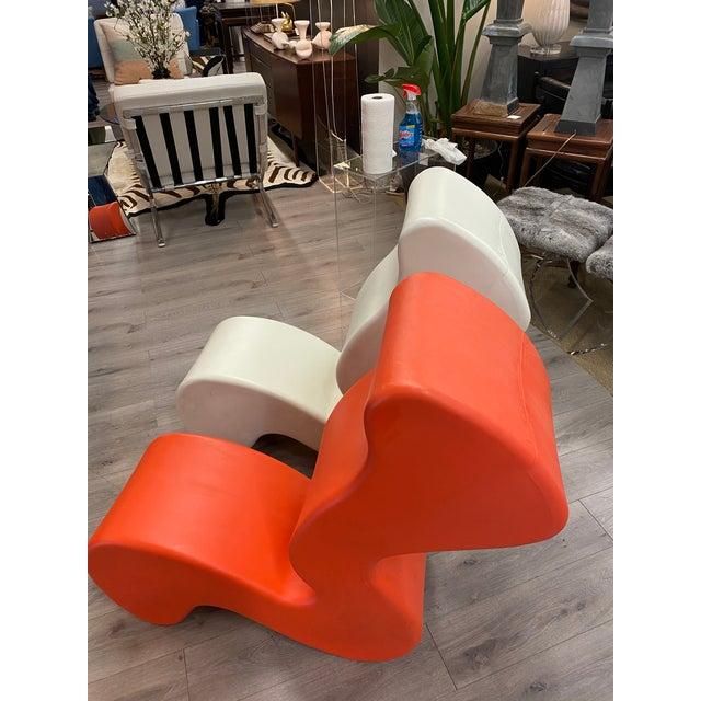 Verner Panton Pair of Verner Panton Phantom Chairs For Sale - Image 4 of 10