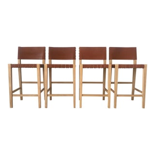 Serena + Lily Collins Counter Stools- Set of 4 For Sale