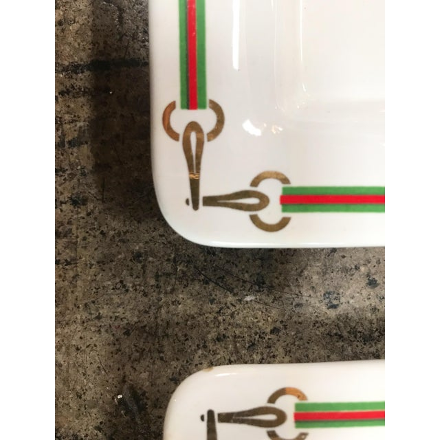 Gucci 1970s Vintage Gucci Plates - Set of 4 For Sale - Image 4 of 8