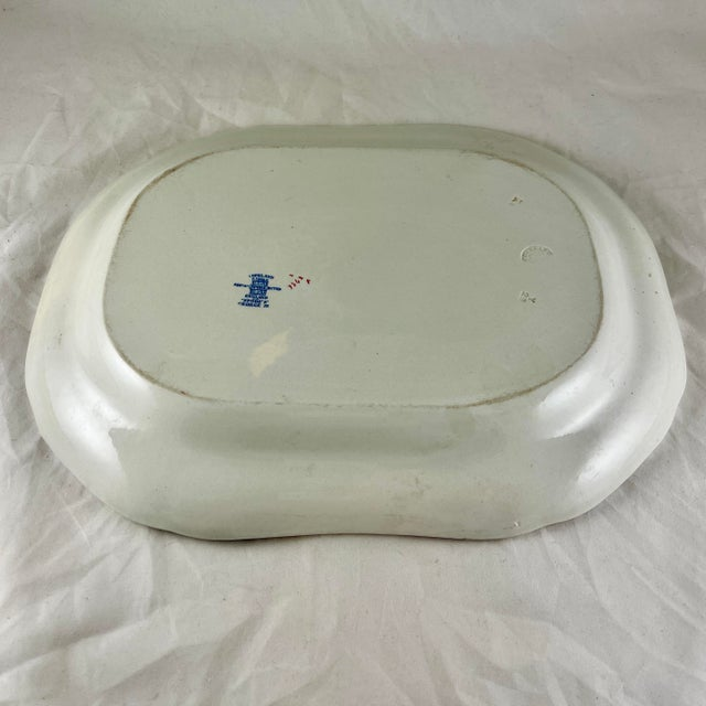 1920s Copeland Spode George III Pattern Platter for Harrods of London For Sale - Image 9 of 13