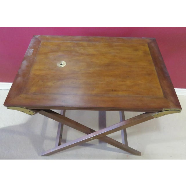 Baker Mahogany Butler's Convertible Buffet Table - Image 2 of 6