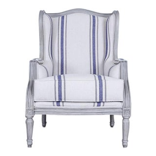 Louis XVI Pierre Berque Wingback chair For Sale
