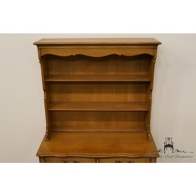 "Drexel Drexel French Country 42"" Buffet W/ Hutch For Sale - Image 4 of 13"
