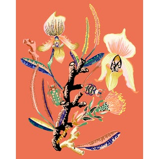 Wondergarden Orchid Mini Giclee Print by Sarah Gordon For Sale