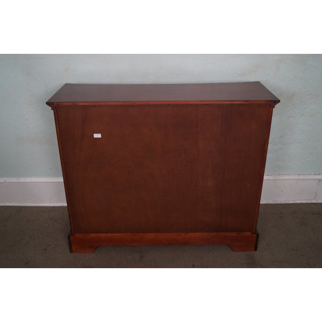 Drexel Heritage Drexel Heritage Cherry Wood Chest of Drawers For Sale - Image 4 of 10
