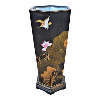 1970's Vintage Asian Umbrella Stand For Sale