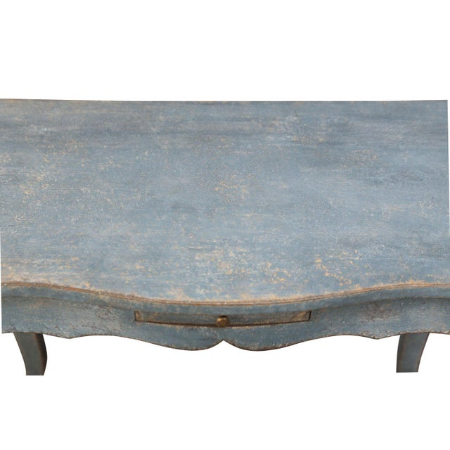 19th Century Painted Swedish Console For Sale In Houston - Image 6 of 7
