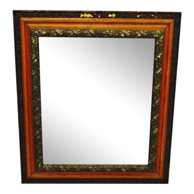 Decorative Wood Gesso Mirror - Image 1 of 11