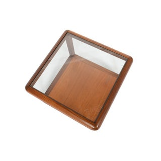 G Plan Square Teak + Glass Coffee Table Preview