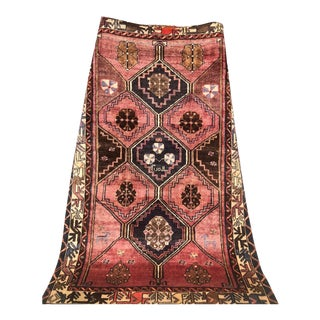 Antique 1930s Persian Karache Serapi Heriz Rug - 5′1″ × 7′10″