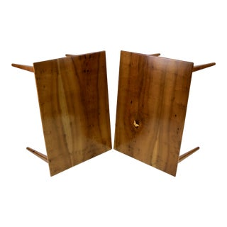 Pair of Side Tables by Arthur Espenet Carpenter III For Sale