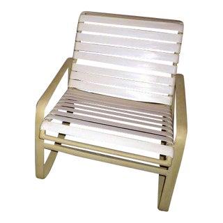 MCM Vintage White Tropitone Chair For Sale