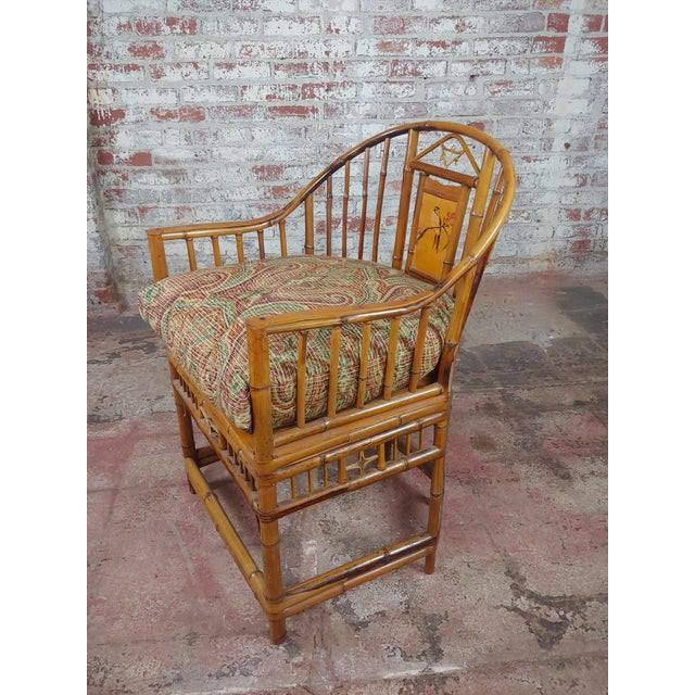 1920s Brighton Pavilion Chinoiserie Chippendale Bamboo Armchairs Circa 1920s - A Pair For Sale - Image 5 of 10