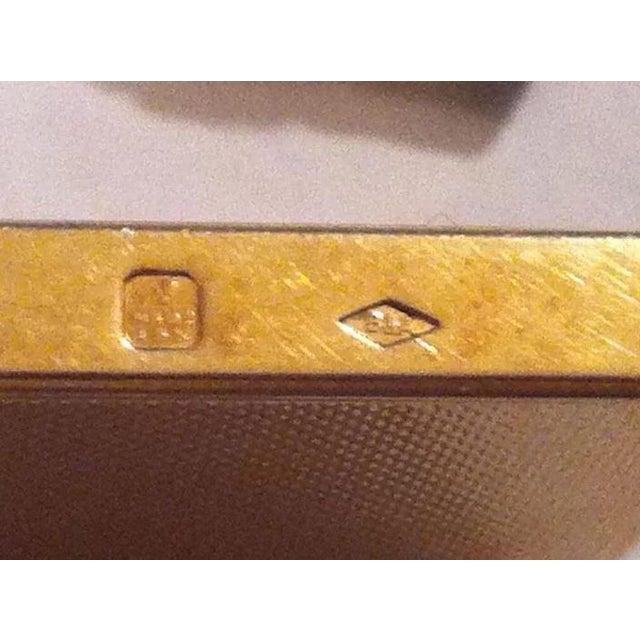 14k Gold Lighter Signed B&A For Sale - Image 4 of 10