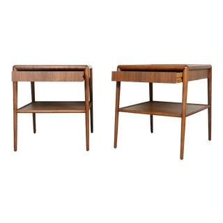 T.H Robsjohn Gibbings End Tables - A Pair