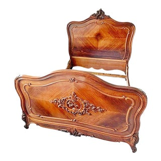 19th Century French Louis-XV Style Bedframe For Sale