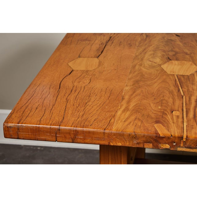 Rare 19th Century Solid Molave Wood Table For Sale In Los Angeles - Image 6 of 10