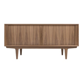 Bernhard Peterson & Søn Credenza Model 156 in Walnut For Sale