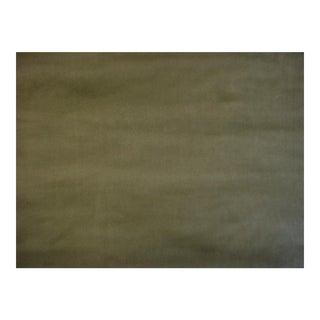 Kravet Couture Versailles Loden Green Velvet Upholstery Fabric- 3 1/4 Yards For Sale