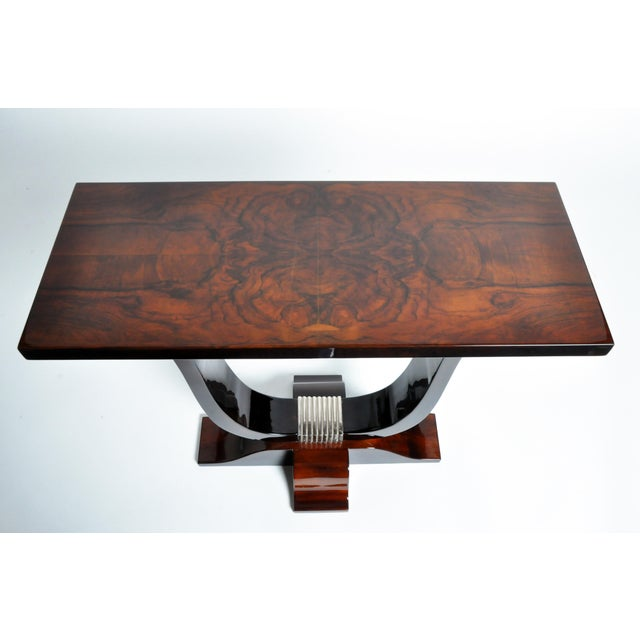 2010s Hungarian Art Deco Style Table For Sale - Image 5 of 11