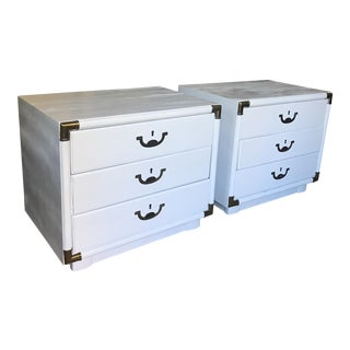 1960s Drexel Accolade Nightstands - a Pair