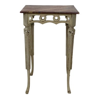 19th C. Neoclassical Side Table, Sweden For Sale