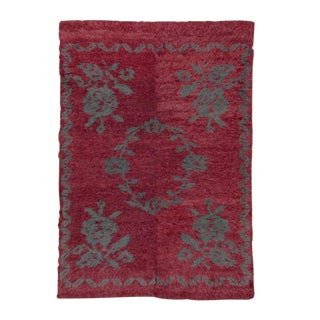 """Tulu"" Rug with flowers For Sale"