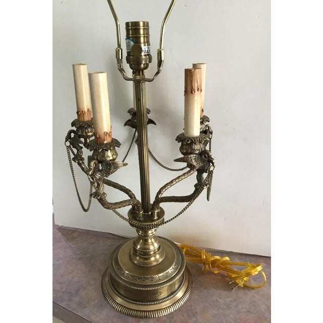 American Regency Eagle Bird Table Lamp Last Markdown For Sale In Cleveland - Image 6 of 13