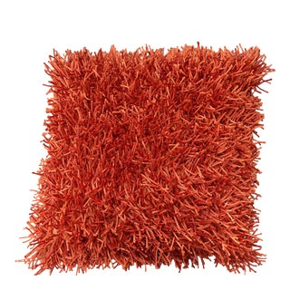 Contemporary Cb2 Orange Pillow For Sale