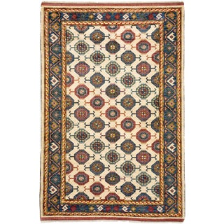 """Ziegler Hand Knotted Area Rug - 5'10"""" X 8'8"""" For Sale"""